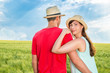 field couple