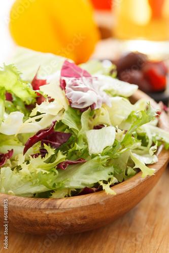 Fotografie, Obraz  spring salad