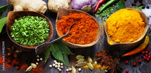 Spices and herbs - 64821441