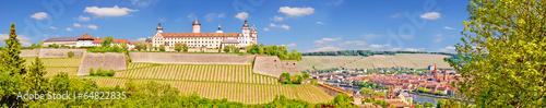 Photo Panoramablick auf Festung Marienberg und Würzburger Altstadt