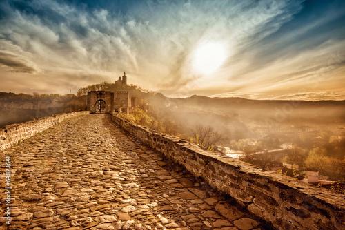 Main gate of Tzarevetz fortress, Veliko Tarnovo, Bulgaria
