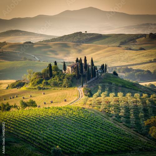 Fototapety, obrazy: Tuscany, amazing lanscape countryside, Italy