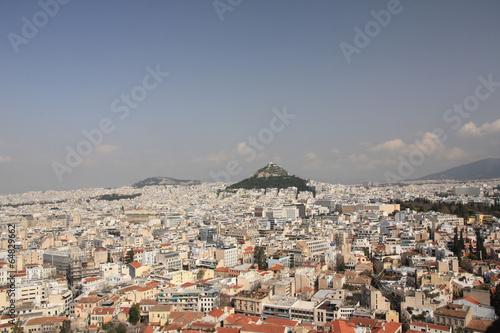 Recess Fitting Athens Lycabette, colline d'Athènes