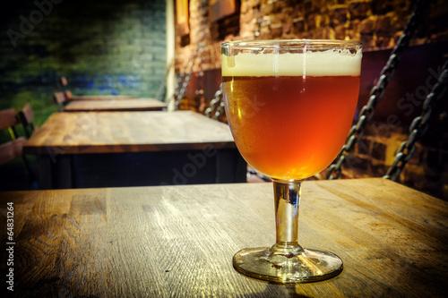Fotografía  Glass of fresh beer