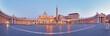Panoramic view of Vatican city, Rome.