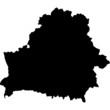 High detailed vector map - Belarus.