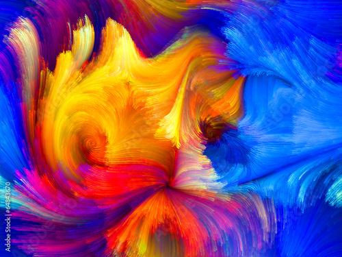 Fototapeta Accidental Color obraz na płótnie