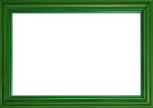 Green Frame Illustration Isolated On White