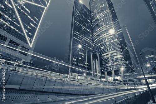 Valokuva  Modern building Landscape in Hong Kong
