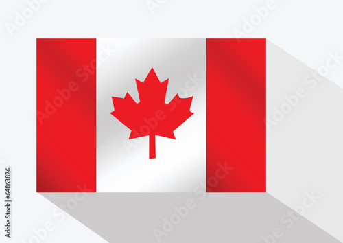 Fototapete - flag of Canada themes idea design