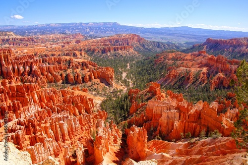 Poster de jardin Parc Naturel View over the hoodoos of Bryce Canyon National Park, USA