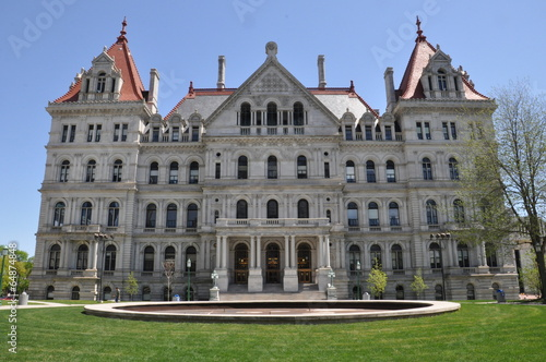 New York State Capitol in Albany Fototapet