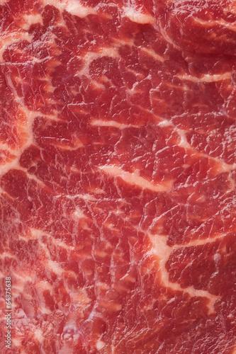 Foto op Canvas Vlees marbled meat texture