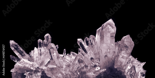Photo crystal quartz