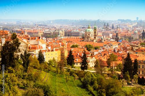 Canvas Prints Athens Prague in Spring Photo