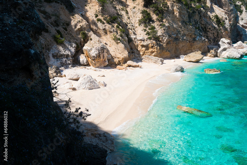 Photo  Cala Mariolu beach