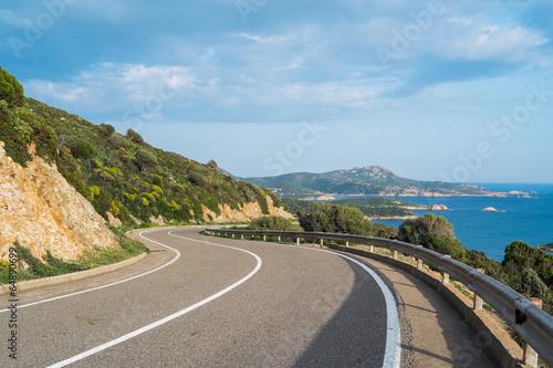Photo  Panoramic road