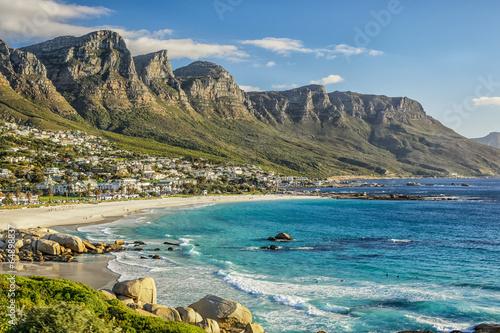 Naklejka premium Plaża w Kapsztadzie