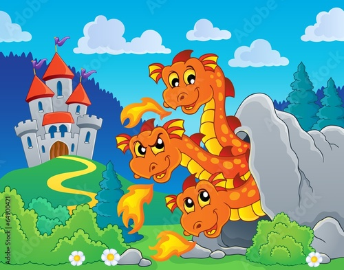 Poster Castle Dragon topic image 8