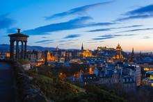 Edinburgh Twilight Skyline