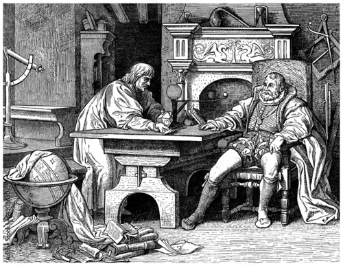 Photo Astronomer -- 17th century