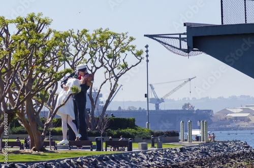 Unconditional surrender, San Diego Poster