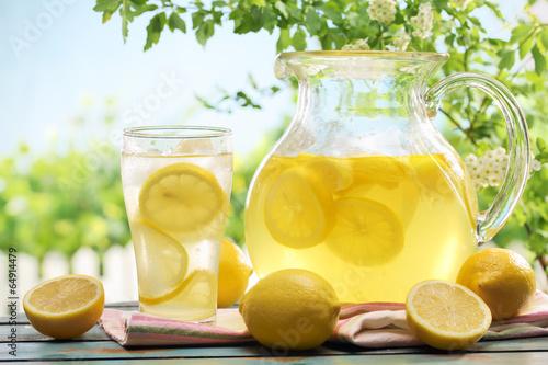 Photo Citrus lemonade