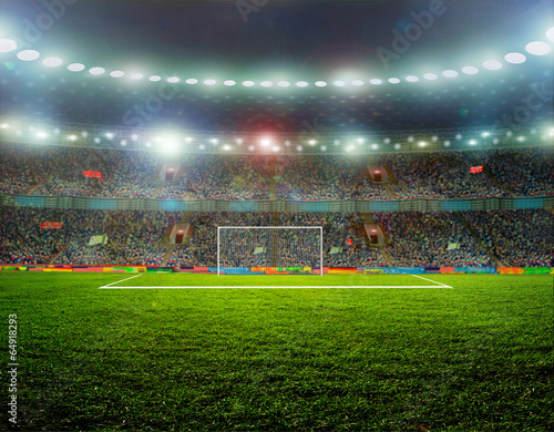 Obraz Soccer ball - fototapety do salonu