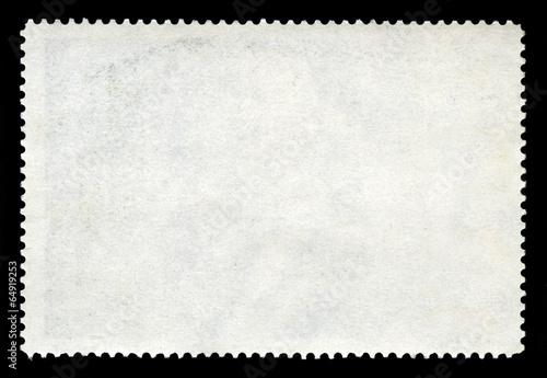 Fotografía  Blank Postage Stamp