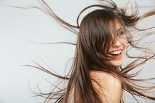 Woman Hair Style Fashion Portr...