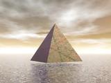 Mystical pyramid - 3D render