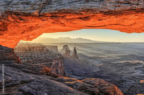 Obraz na plátně  Canyon