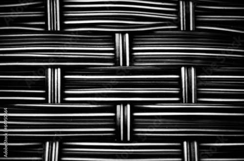 woven  rattan texture