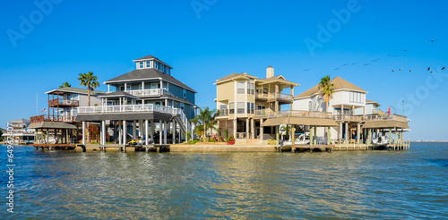 Poster Texas Waterfront homes