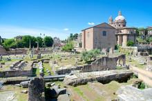 Curia Iulia, Imperial Forum, Rome, Italy