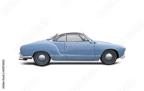 Photo  VW Karmann Ghia isolated on white