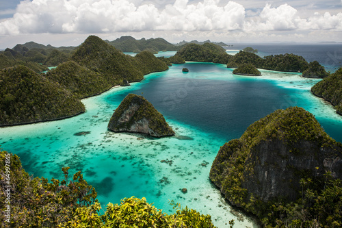 Wall Murals Indonesia Limestone Islands 2