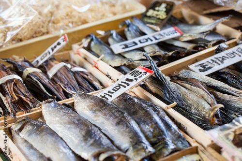 Fotografie, Obraz  Tsukiji Fish Market, Japan.