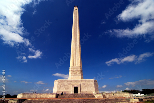 San Jacinto Monument in Houston, Texas