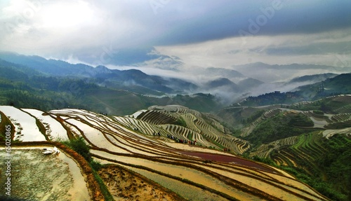 Fotobehang Guilin The image of travel destinations in China,Asia