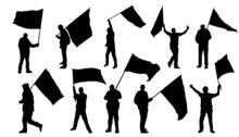 Poeple With Flag