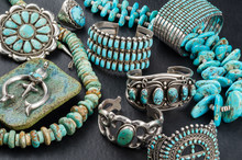 Collection Of Vintage Turquois...