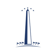 Washington Monument Image.Concept Of Commemoration, DC Landmark