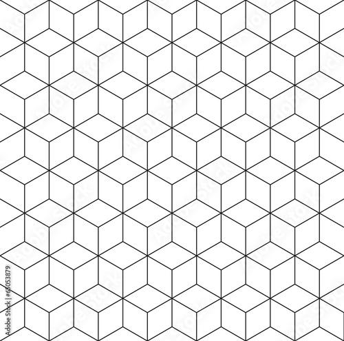 Tapeta ścienna na wymiar Pattern cube background