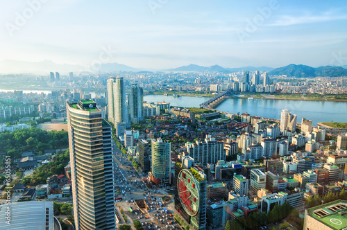 Photo  Seoul Cityscape