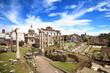 Rome - Forum romain - Foro Romano