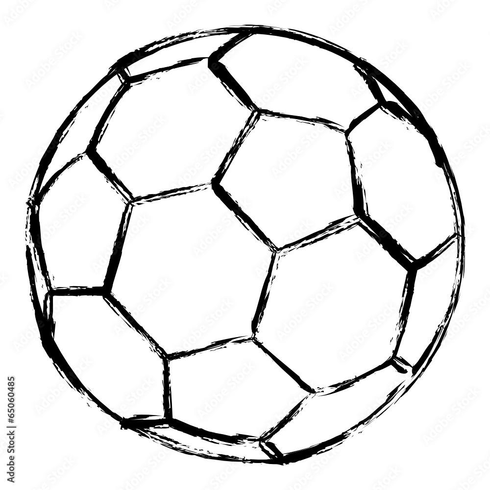 Gamesageddon Stock Fussball Gezeichnet