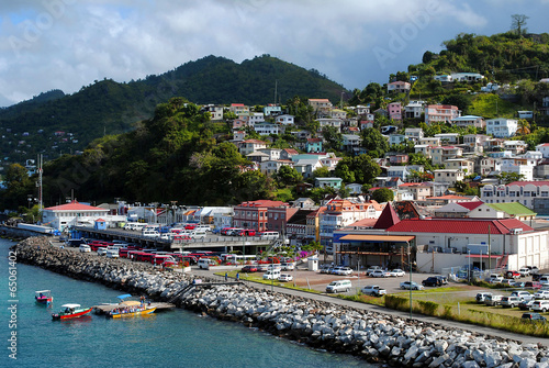 St George's harbour Grenada