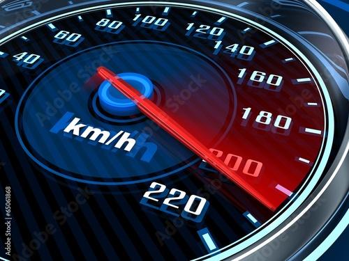 Fotografía  Car Speedometer