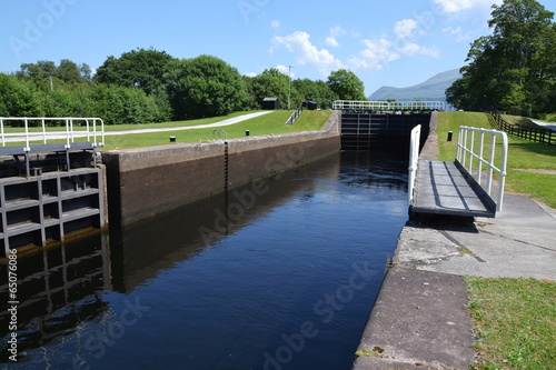 Fotografie, Obraz  Neptune's Staircase on the Caledonian Canal